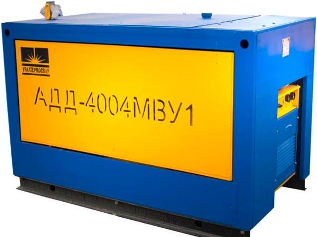 Особенности сварочного агрегата АДД-4004